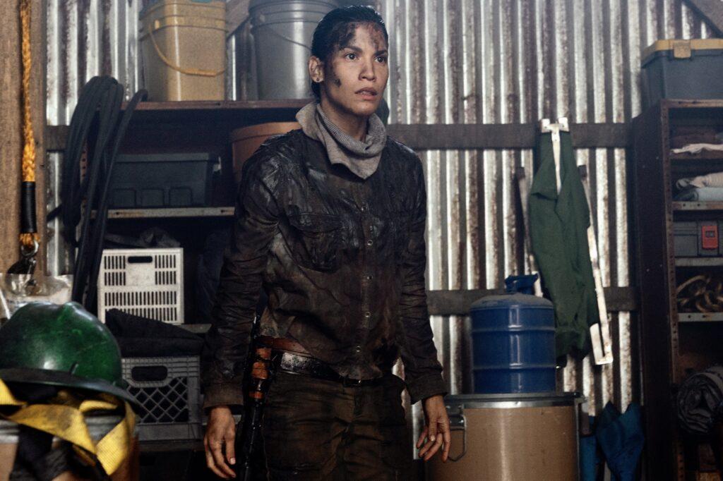 Danay Garcia as Luciana on the show Fear the walking dead