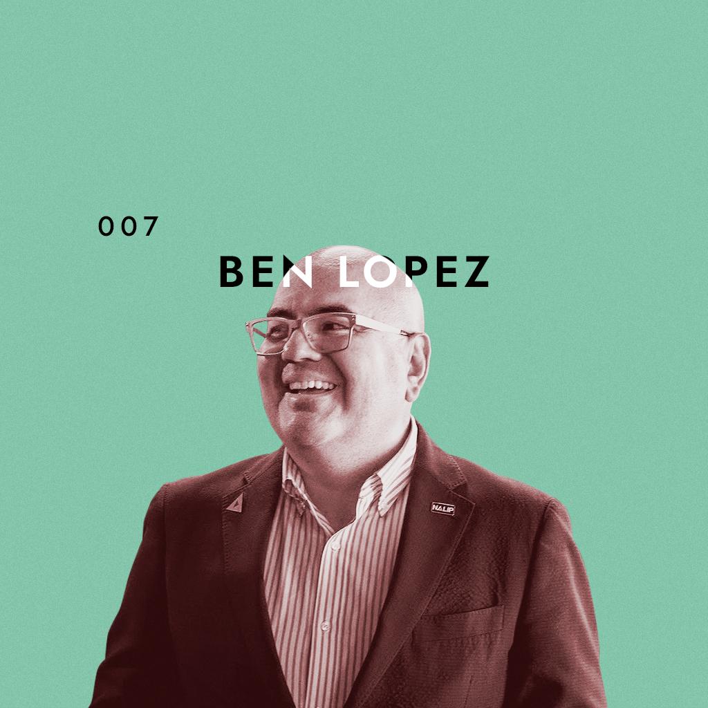 Ben Lopez director or nalip seats down woith Danay Garcia