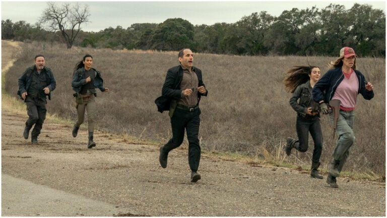 Danay Garcia, Ruben Blades, Mo Collins on the season finale of Fear the Walking Dead