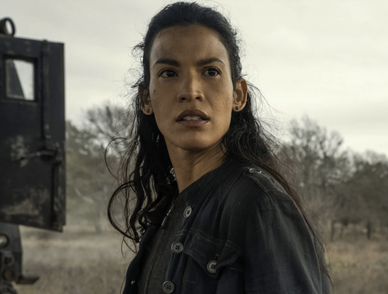 Danay Garcia talks about Fear the walking Dead season 7 and how it changed her outlook on the pandemic